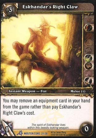 Eskhandars Right Claw