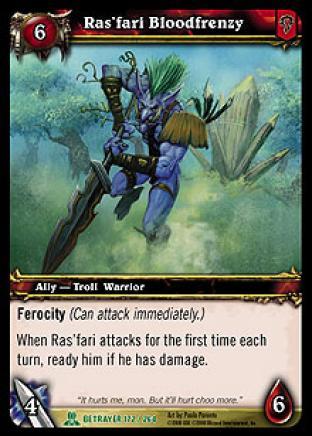 Ras'fari Bloodfrenzy