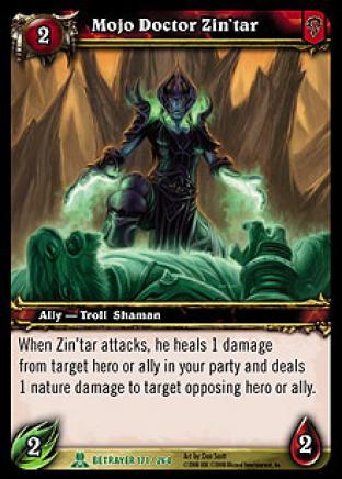 Mojo Doctor Zin'tar