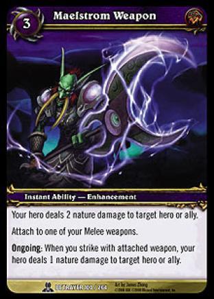 Maelstrom Weapon