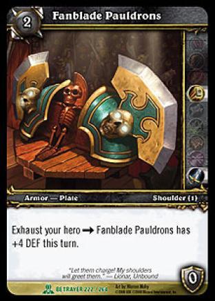 Fanblade Pauldrons