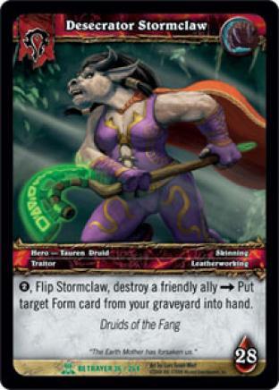 Desecrator Stormclaw