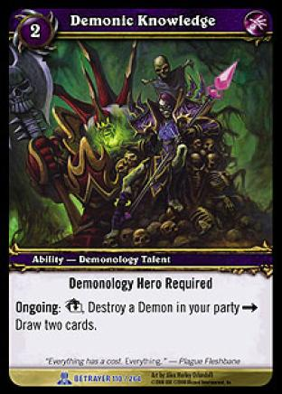 Demonic Knowledge