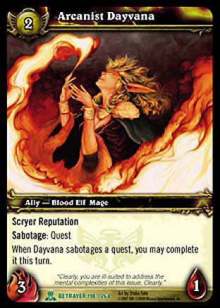 Arcanist Dayvana