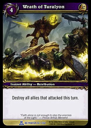 Wrath of Turalyon