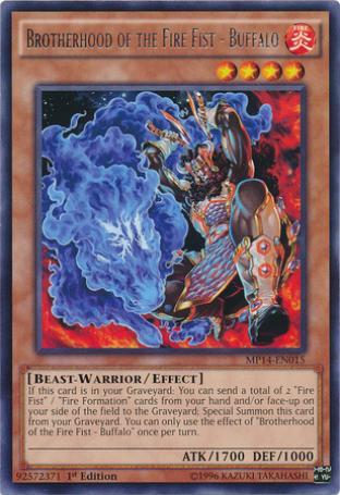 Brotherhood of the Fire Fist - Buffalo