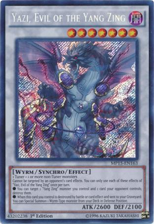 Yazi, Evil of the Yang Zing