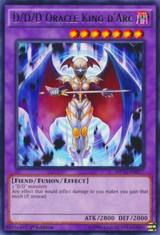 D/D/D Oracle King d'Arc