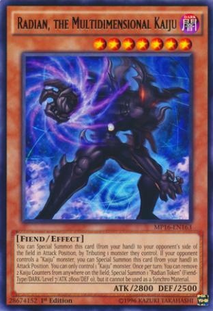 Radian, the Multidimensional Kaiju