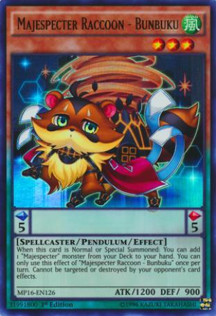 Majespecter Raccoon - Bunbuku