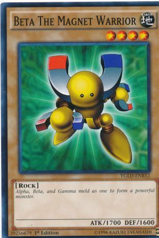Beta The Magnet Warrior