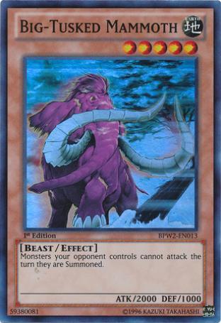 Big-Tusked Mammoth