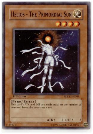 Helios - The Primordial Sun