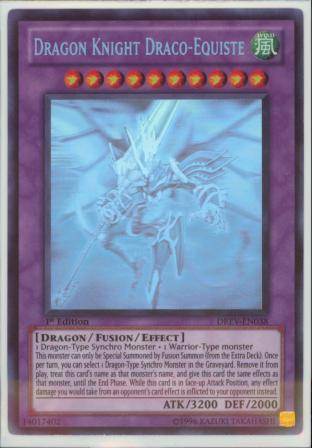 Dragon Knight Draco-Equiste (Ghost Rare)
