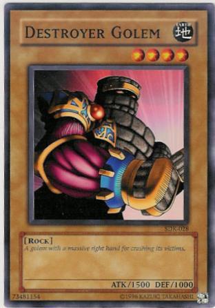 Destroyer Golem