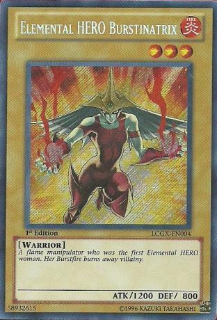 Elemental HERO Burstinatrix (Alternate Art)