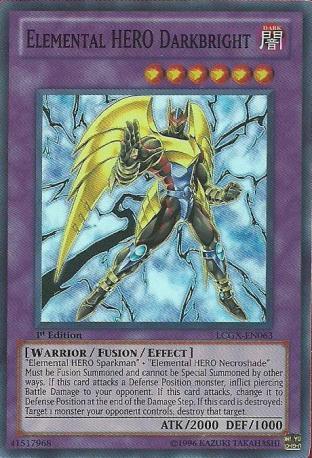 Elemental HERO Darkbright