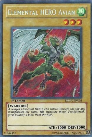 Elemental HERO Avian (Alternate Art)