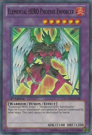 Elemental HERO Phoenix Enforcer