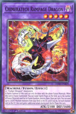 Chimeratech Rampage Dragon (Ultra Rare Version)