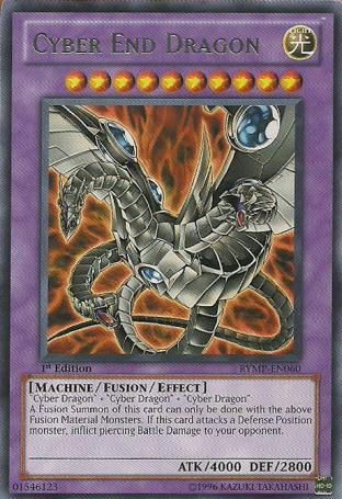 Cyber End Dragon (Alternate art)