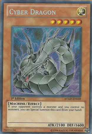 Cyber Dragon (Alternate art)
