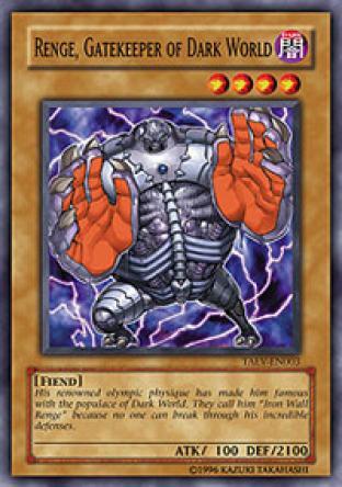 Renge, Gatekeeper of Dark World