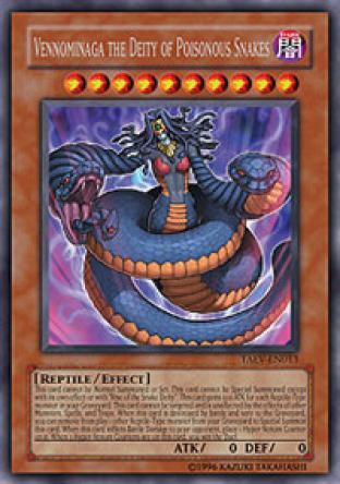 Vennominaga the Deity of Poisonous Snakes
