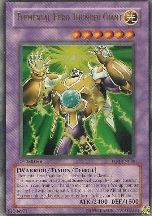 Elemental Hero Thunder Giant