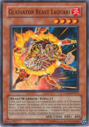 Gladitor Beast Laquari