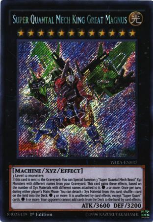 Super Quantal Mech King Great Magnus