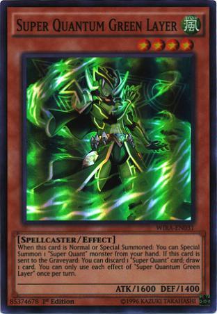 Super Quantum Green Layer