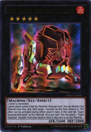 Super Quantal Mech Beast Magnaliger