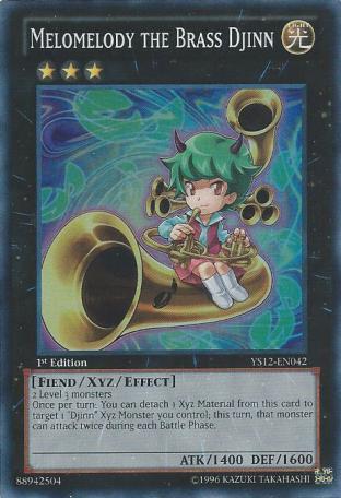 Melomelody the Brass Djinn